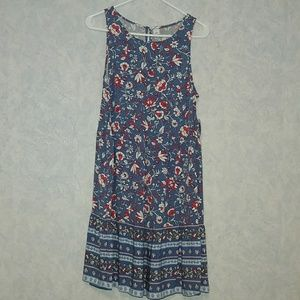 NWT Old Navy tiered trapeze dress MED